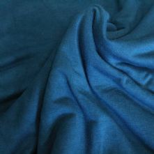 Teal Blue Viscose Jersey Dress Fabric 150cm Wide